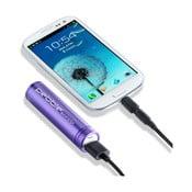 Smartstick lila hordozható töltő - Pebble