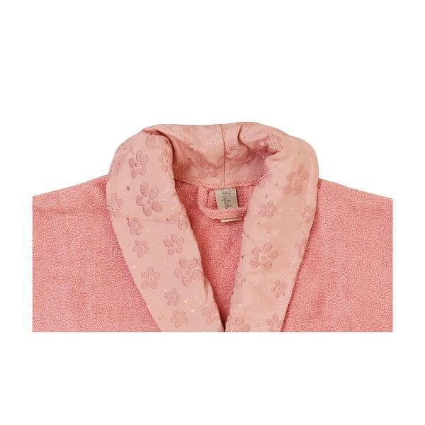 London pink fürdőköpeny és törölköző szett