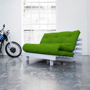 Roots White/Lime kinyitható kanapéágy - Karup