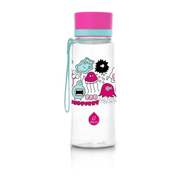 Monsters műanyag ivópalack, 0,6 l - Equa
