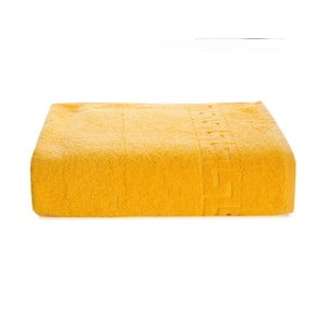 Pauline sárga pamut törölköző, 50x90cm - Kate Louise