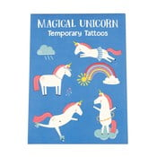 Magical Unicorn lemoshaó tetoválás szett, 2 lapos - Rex London