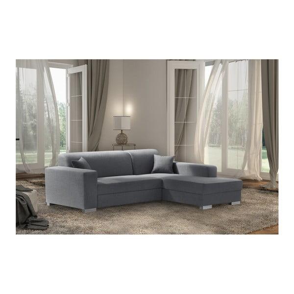 Bijou szürke kanapé, jobb oldal - Interieur De Famille Paris