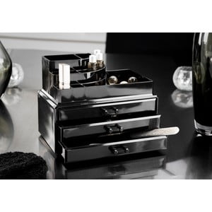 Fekete smink rendszerező - Compactor
