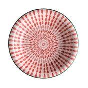 Ginger piros mélytányér, ⌀ 21 cm - Brandani