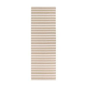 Hullo barna-fehér bel-/kültéri futószőnyeg, 70 x 350 cm - Narma