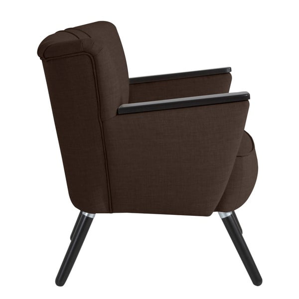 Laurin csokoládébarna fotel - Max Winzer