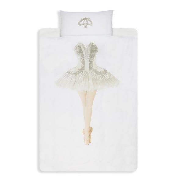 Ballerina egyszemélyes pamut ágyneműhuzat, 140 x 200 cm - Snurk