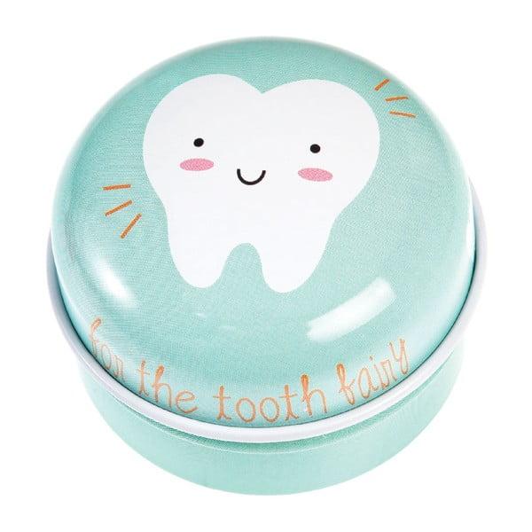Tooth Fairy világoszöld dobozka - Rex London