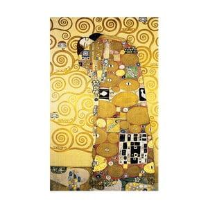 Fulfillment kép másolat, 50 x 30 cm - Gustav Klimt