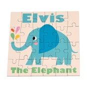 Elvis The Elephant puzzle, 24 db - Rex London