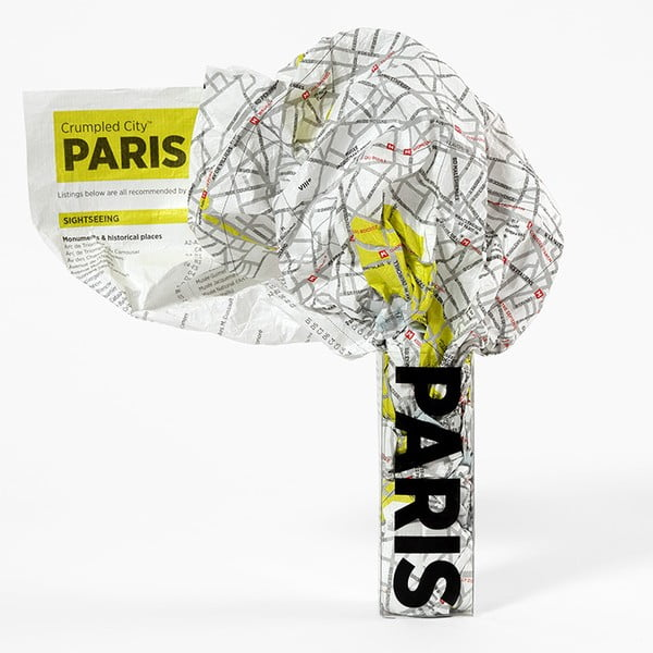 Párizs gyűrhető turista térkép - Palomar