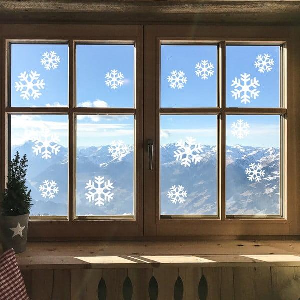 Bright White Snow elektrosztatikus karácsonyi matrica - Ambiance