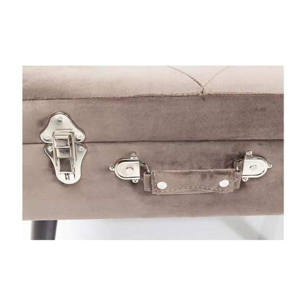 Suitcase szürke ülőke - Kare Design