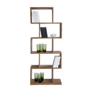Authentico ZickZack könyvespolc Sheesham fából - Kare Design