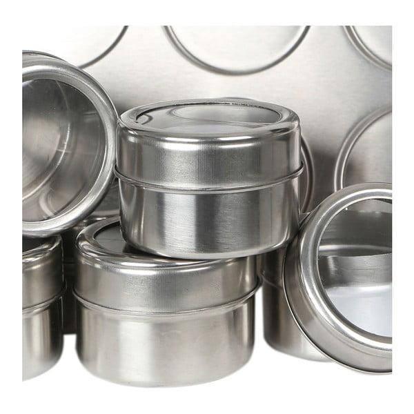 6 db-os mágneses fűszertartó készlet tálcával, 100 ml - Premier Housewares
