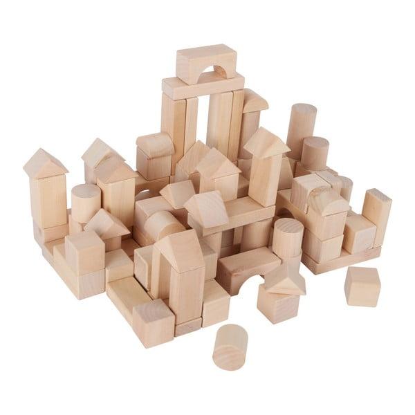 Blocks In A Bag fa építőkockák - Legler
