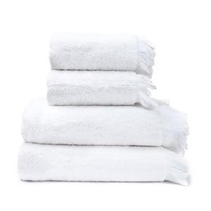 Bath 2 fehér pamut törölköző és 2 fürdőlepedő szett - Casa Di Bassi 94d40834da