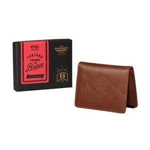 Barna bőr pénztárca - Gentlemen's Hardware