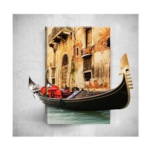 Boat Ride 3D fali kép, 40 x 60 cm - Mosticx
