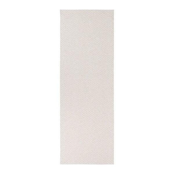 Diby krémszínű kültéri futószőnyeg, 70 x 150 cm - Narma