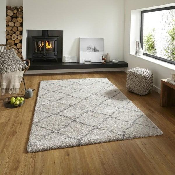 Royal Normandic Cream krémszínű-szürke szőnyeg, 160 x 230 cm - Think Rugs