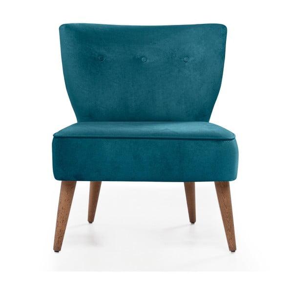 Home Molly türkiz kárpitozott szék - Balcab