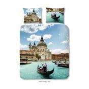 Premento Venice egyszemélyes pamut ágyneműhuzat garnitúra, 140 x 200 cm - Good Morning
