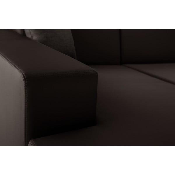 Tresor barna kanapé, bal oldalas - Interieur De Famille Paris