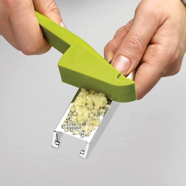 Easy-press zöld fokhagymatörő - Joseph Joseph