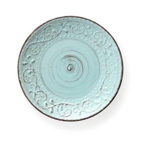 Serendipity türkizkék agyagkerámia tányér, ⌀ 27,5 cm - Brandani
