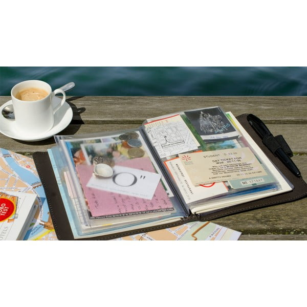 Scoop utazó napló élmények és szuvenírek megőrzésére - Remember