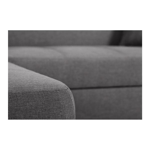 Bijou sötétszürke kanapé, bal oldalas - Interieur De Famille Paris