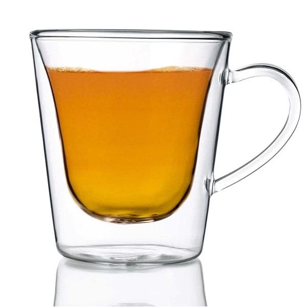 Coffee&Tea 2 db duplafalú üvegpohár, 295 ml - Bredemeijer