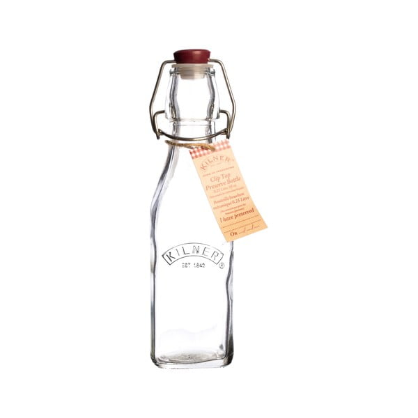 Palack műanyag kupakkal, 250 ml - Kilner