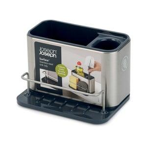 Tidy rozsdamentes acél állvány mosogató eszközökhöz, 18 x 12,8 cm - Joseph Joseph