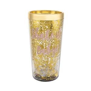 Prosecco arany színű koktél shaker - Sass & Belle