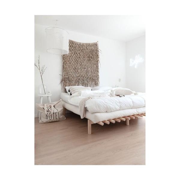 Pace Natural borovi fenyő ágykeret, 180 x 200 cm - Karup Design
