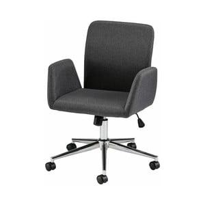Bendy fekete, kerekes irodai szék karfával - Støraa