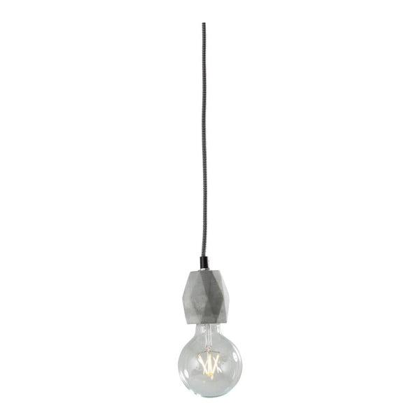 Concrete szürke mennyezeti lámpa - Kare Design