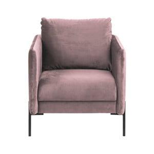 Kingsley púderrózsaszín fotel - Actona