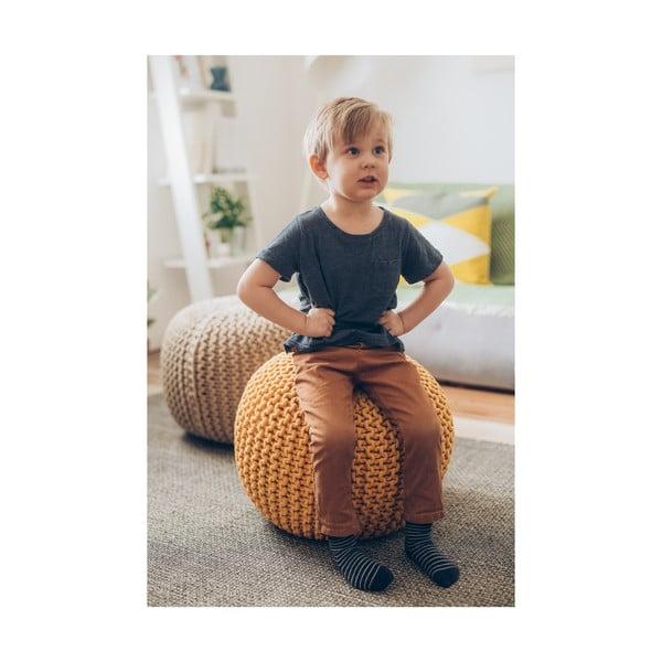 Homokbarna puff - loomi.design