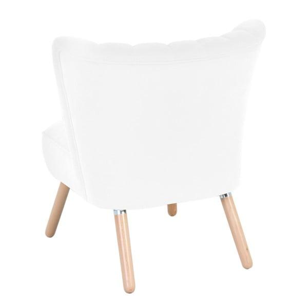 Alessandro Velor krémszínű fotel - Max Winzer