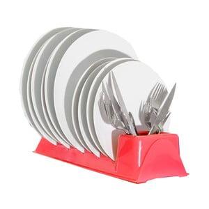 Piros tányértartó állvány - JOCCA