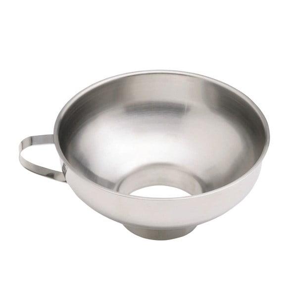 Home Made rozsdamentes acél befőző tölcsér, ⌀ 14 cm - Kitchen Craft