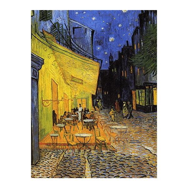 Vincent van Gogh - Cafe Terrace festményének másolata, 60 x 45 cm