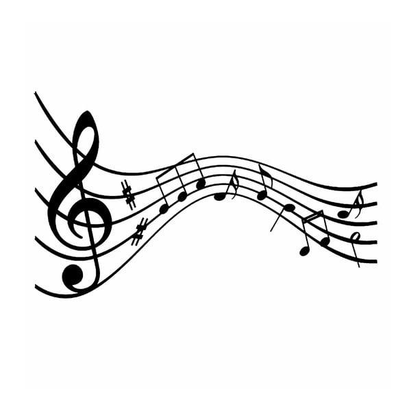 Melodie vinil falmatrica, 86x52cm