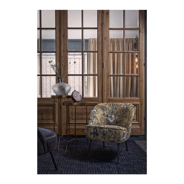 Vogue Poppy mustársárga fotel - BePureHome