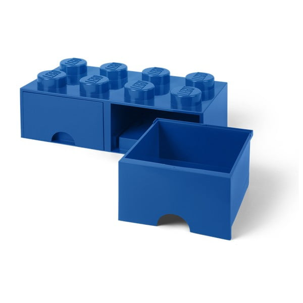 Sötétkék 2 fiókos tárolódoboz - LEGO®