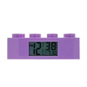 Brick lila ébresztőóra - LEGO®